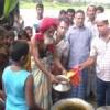 মনির মেম্বারের নেতৃত্বে বঙ্গবন্ধু শেখ মজিবরের ৪২ তম শাহাদাৎ বাষির্কী পালিত